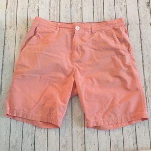 Johnnie-O Coral Shorts
